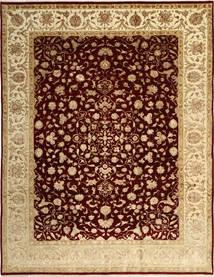タブリーズ Royal Magic 絨毯 244X315 オリエンタル 手織り 深紅色の/暗めのベージュ色の ( インド)