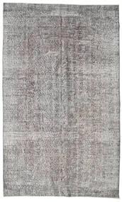 カラード ヴィンテージ 絨毯 161X266 モダン 手織り 薄い灰色/濃いグレー (ウール, トルコ)