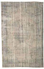カラード ヴィンテージ 絨毯 196X300 モダン 手織り 薄い灰色 (ウール, トルコ)