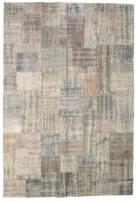 パッチワーク 絨毯 203X301 モダン 手織り 薄い灰色 (ウール, トルコ)