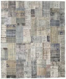パッチワーク 絨毯 251X300 モダン 手織り 薄い灰色/濃いグレー 大きな (ウール, トルコ)