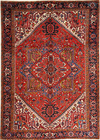 ヘリーズ 絨毯 251X352 オリエンタル 手織り 深紅色の/錆色 大きな (ウール, ペルシャ/イラン)