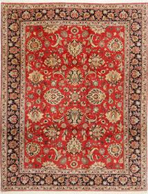 ビジャー 絨毯 312X402 オリエンタル 手織り 錆色/濃い茶色 大きな (ウール/絹, ペルシャ/イラン)