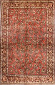 サルーク American 絨毯 310X485 オリエンタル 手織り 濃い茶色/錆色 大きな (ウール, ペルシャ/イラン)