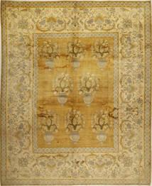カシュマール パティナ 絨毯 326X403 オリエンタル 手織り オリーブ色/薄茶色 大きな (ウール, ペルシャ/イラン)