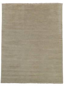 ハンドルーム Fringes - Greige 絨毯 200X250 モダン 薄い灰色 (ウール, インド)