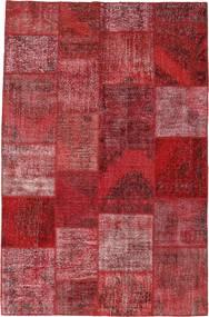 パッチワーク 絨毯 196X301 モダン 手織り 深紅色の/紫 (ウール, トルコ)