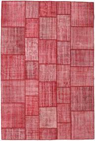 パッチワーク 絨毯 203X304 モダン 手織り 錆色/ピンク (ウール, トルコ)