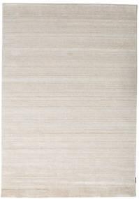 Bamboo シルク ルーム - ベージュ 絨毯 160X230 モダン 薄い灰色 ( インド)