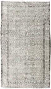 カラード ヴィンテージ 絨毯 154X272 モダン 手織り 薄い灰色/暗めのベージュ色の (ウール, トルコ)