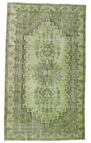 カラード ヴィンテージ 絨毯 148X255 モダン 手織り ライトグリーン/深緑色の (ウール, トルコ)