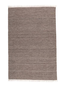 Melange - 茶 絨毯 140X200 モダン 手織り 薄い灰色 (ウール, インド)