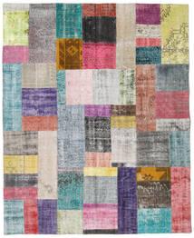 パッチワーク 絨毯 200X248 モダン 手織り 薄い灰色/濃いグレー (ウール, トルコ)