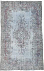 カラード ヴィンテージ 絨毯 182X297 モダン 手織り 水色/薄い灰色 (ウール, トルコ)