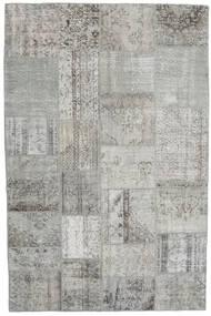パッチワーク 絨毯 198X301 モダン 手織り 薄い灰色 (ウール, トルコ)