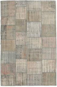 パッチワーク 絨毯 198X305 モダン 手織り 薄い灰色 (ウール, トルコ)