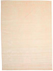 Himalaya 絨毯 300X421 モダン 手織り ベージュ/ライトピンク 大きな (ウール/バンブーシルク, インド)