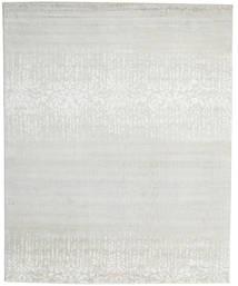 Himalaya 絨毯 243X301 モダン 手織り 薄い灰色/ベージュ (ウール/バンブーシルク, インド)