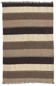 キリム 絨毯 80X125 オリエンタル 手織り 薄い灰色/ベージュ/濃いグレー (ウール, ペルシャ/イラン)