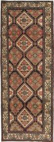 ハマダン パティナ 絨毯 105X285 オリエンタル 手織り 廊下 カーペット 茶/濃いグレー (ウール, ペルシャ/イラン)