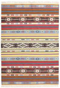 キリム - Navaja - Navaja 絨毯 170X240 モダン 手織り ベージュ/黒 ( インド)