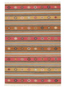 キリム - Nezzim - Nezzim 絨毯 170X240 モダン 手織り 薄茶色/薄い灰色 ( インド)