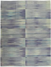 キリム モダン 絨毯 213X278 モダン 手織り 濃いグレー/薄い灰色 (ウール, アフガニスタン)