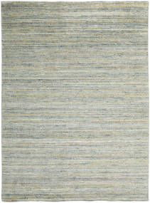 Mazic - Green_Grey 絨毯 210X290 モダン 手織り 薄い灰色/パステルグリーン (ウール, インド)