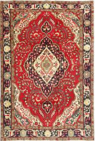 タブリーズ 絨毯 200X298 オリエンタル 手織り 深紅色の/濃い茶色 (ウール, ペルシャ/イラン)