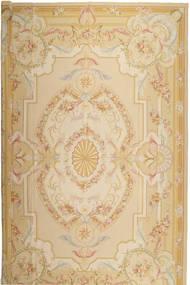 Aubousson 絨毯 366X549 オリエンタル 手織り ベージュ/暗めのベージュ色の 大きな (ウール, 中国)