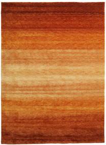 ギャッベ Rainbow - 錆色 絨毯 210X290 モダン 錆色/薄茶色 (ウール, インド)
