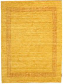 ハンドルーム Gabba - ゴールド 絨毯 160X230 モダン 黄色/オレンジ (ウール, インド)
