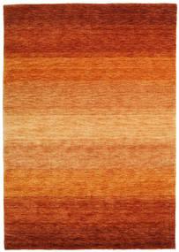 ギャッベ Rainbow - 錆色 絨毯 140X200 モダン オレンジ/錆色/薄茶色 (ウール, インド)