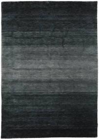 ギャッベ Rainbow - グレー 絨毯 160X230 モダン 黒/濃いグレー (ウール, インド)