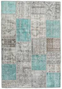 パッチワーク 絨毯 159X231 モダン 手織り 薄い灰色 (ウール, トルコ)