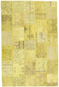 パッチワーク 絨毯 198X300 モダン 手織り 黄色 (ウール, トルコ)