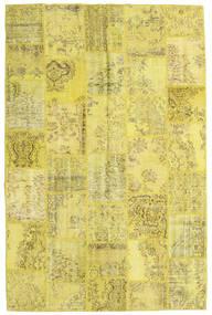パッチワーク 絨毯 197X301 モダン 手織り 黄色/オリーブ色 (ウール, トルコ)