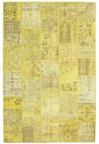 パッチワーク 絨毯 200X303 モダン 手織り 黄色/オリーブ色 (ウール, トルコ)