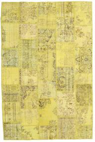 パッチワーク 絨毯 199X298 モダン 手織り 黄色/オリーブ色 (ウール, トルコ)