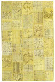 パッチワーク 絨毯 198X303 モダン 手織り 黄色/オリーブ色 (ウール, トルコ)