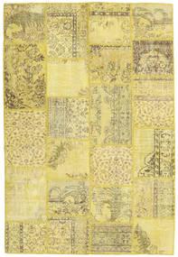 パッチワーク 絨毯 159X236 モダン 手織り 黄色/オリーブ色 (ウール, トルコ)