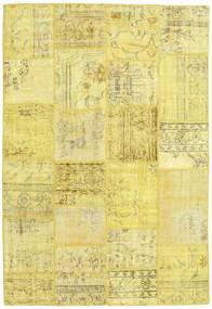 パッチワーク 絨毯 158X231 モダン 手織り 黄色 (ウール, トルコ)