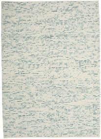 Big Drop - Teal Mix 絨毯 240X340 モダン 手織り 薄い灰色/ベージュ (ウール, インド)