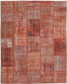 パッチワーク 絨毯 199X248 モダン 手織り 深紅色の/赤 (ウール, トルコ)