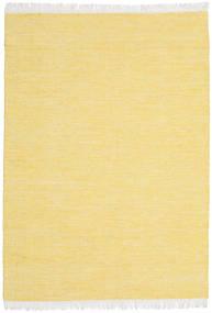 Diamond ウール - 黄色 絨毯 140X200 モダン 手織り 黄色/暗めのベージュ色の (ウール, インド)