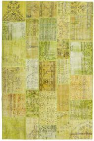パッチワーク 絨毯 198X300 モダン 手織り 黄色/オリーブ色 (ウール, トルコ)