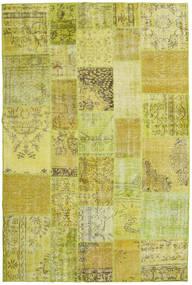 パッチワーク 絨毯 199X301 モダン 手織り 黄色/オリーブ色 (ウール, トルコ)