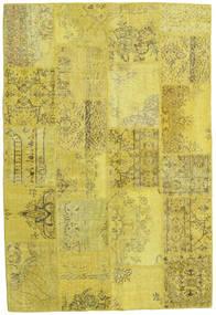 パッチワーク 絨毯 159X235 モダン 手織り 黄色/オリーブ色 (ウール, トルコ)