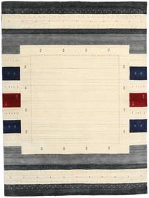 Loribaf ルーム Designer 絨毯 210X290 モダン ベージュ/濃いグレー (ウール, インド)