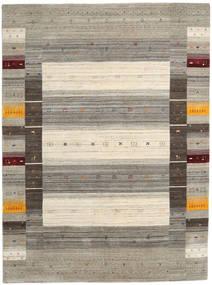 Loribaf ルーム Designer - Warm グレー 絨毯 210X290 モダン 薄い灰色/ベージュ (ウール, インド)